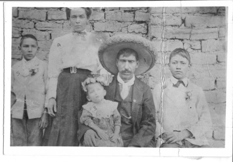 Heliodoro Garcia Dominguez far left side